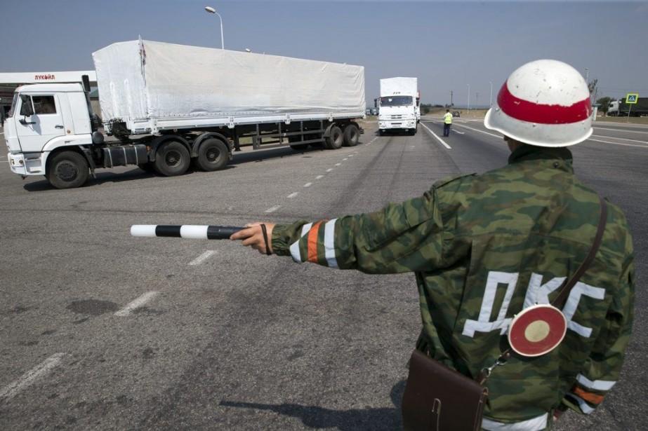 L'Ukraine, comme de nombreux pays occidentaux, soupçonne que... (PHOTO PAVEL GOLOVKIN, ASSOCIATED PRESS)