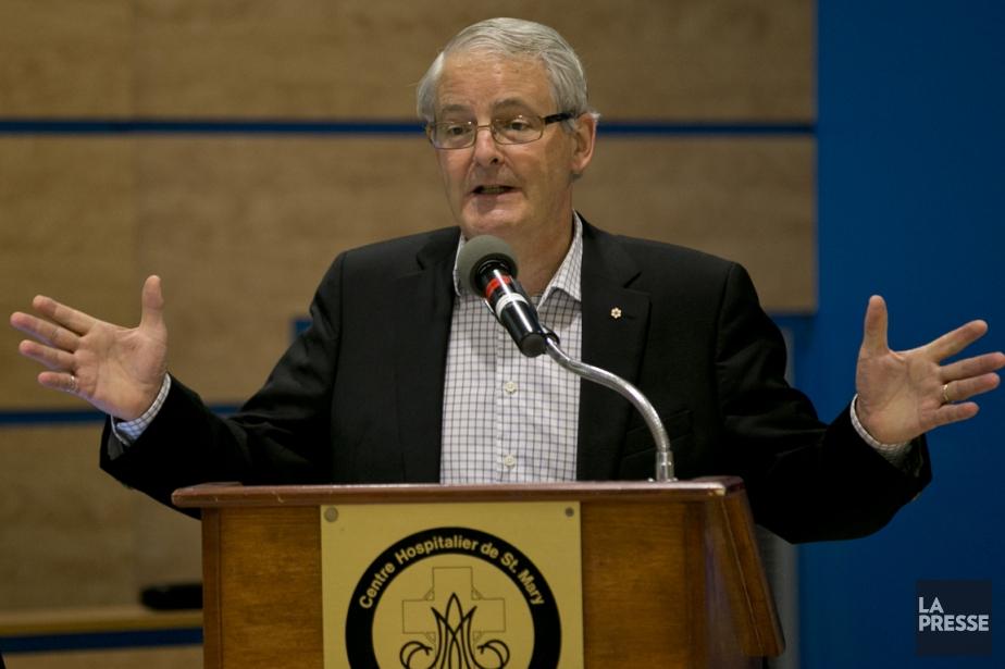 Marc Garneau, ex-astronaute et député fédéral de Westmount,... (PHOTO DAVID BOILY, LA PRESSE)