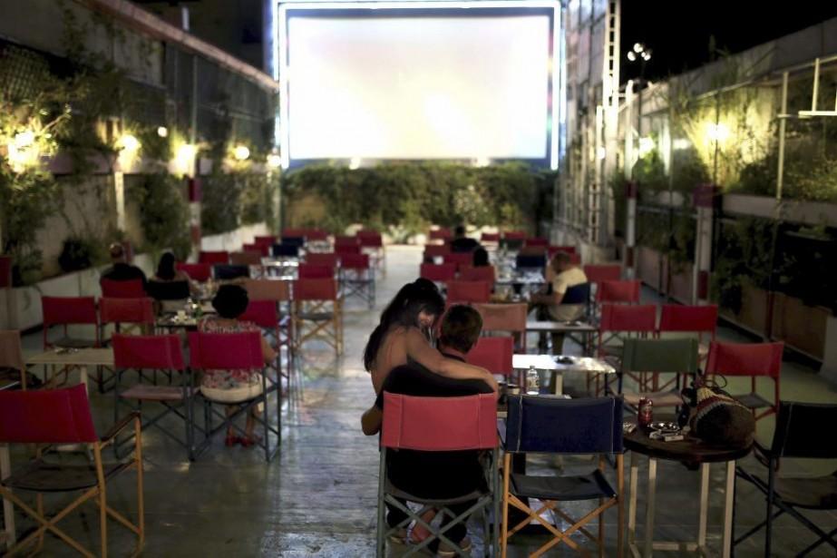 Le cinéma Palace, situé dans le quartier athénien... (Photo: AFP)