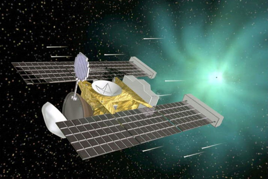 La sonde américaine Stardust.... (Photo fournie par la NASA)