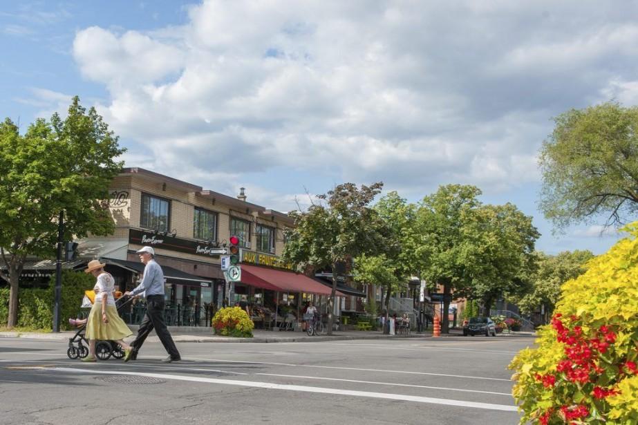 Les commerçants de la rue Fleury n'hésitent pas... (PHOTO CATHERINE LEFEBVRE, COLLABORATION SPÉCIALE)