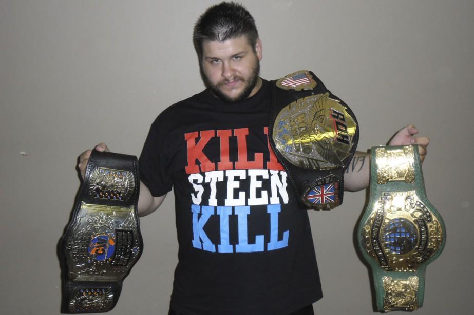 Le contrat de Kevin Steen a été annoncé... (Photo archives Patric Laprade, collaboration spéciale)