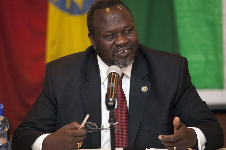 Riek Machar, l'homme à la tête des rebelles... (Photo archives AFP)