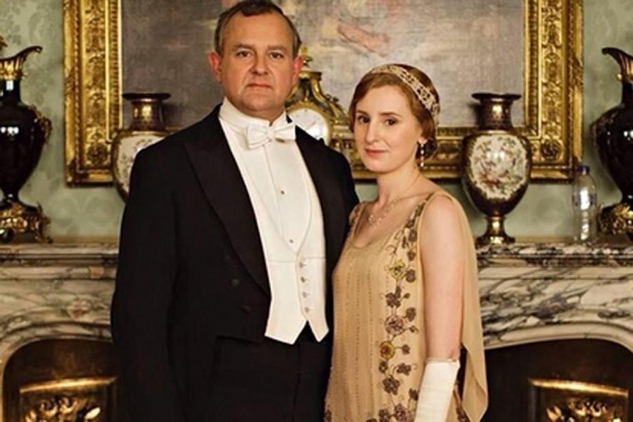 La photo promotionnelle deDownton Abbey... (PHOTO TIRÉE DE TWITTER)