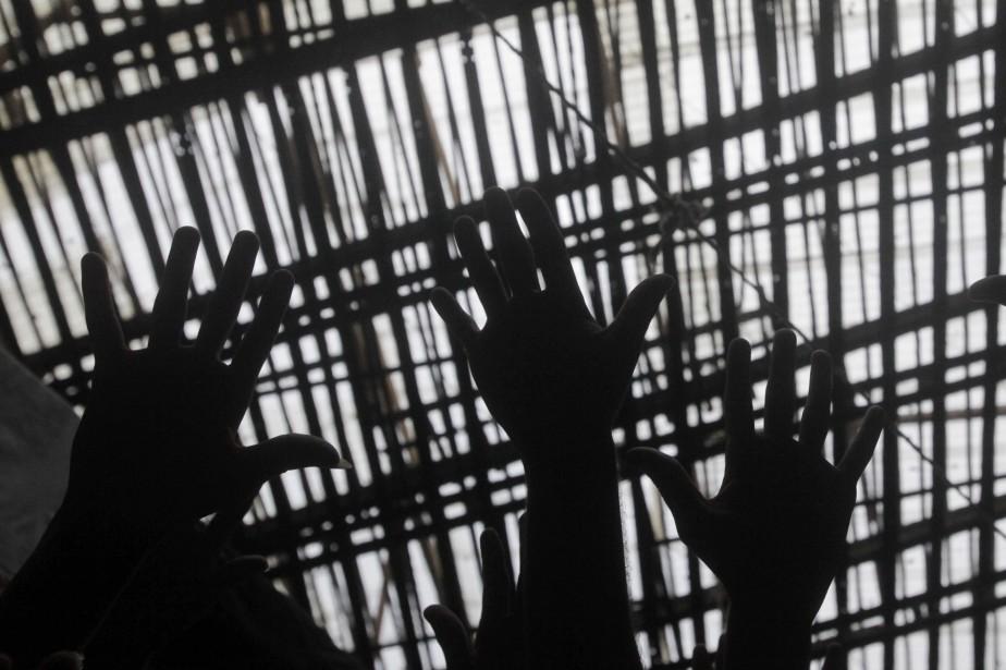 Treize détenus brésiliens se sont évadés d'une... (Photo archives Reuters)