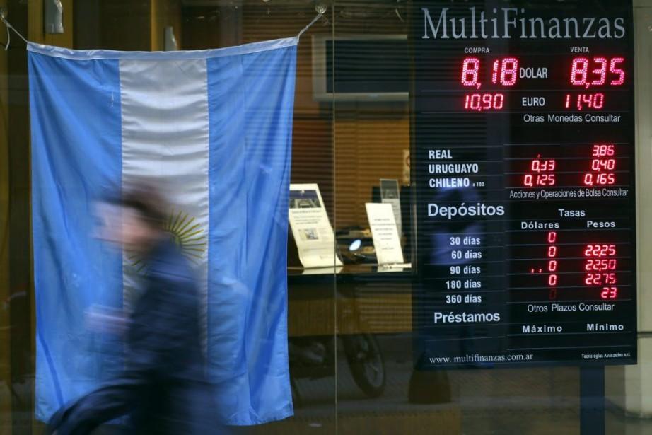 L'Argentine n'a pas pu honorer ce remboursement de... (PHOTO MARCOS BRINDICCI, ARCHIVES REUTERS)