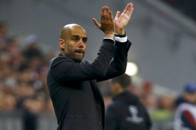 Pep Guardiola... (Photo Kai Pfaffenbach, Reuters)