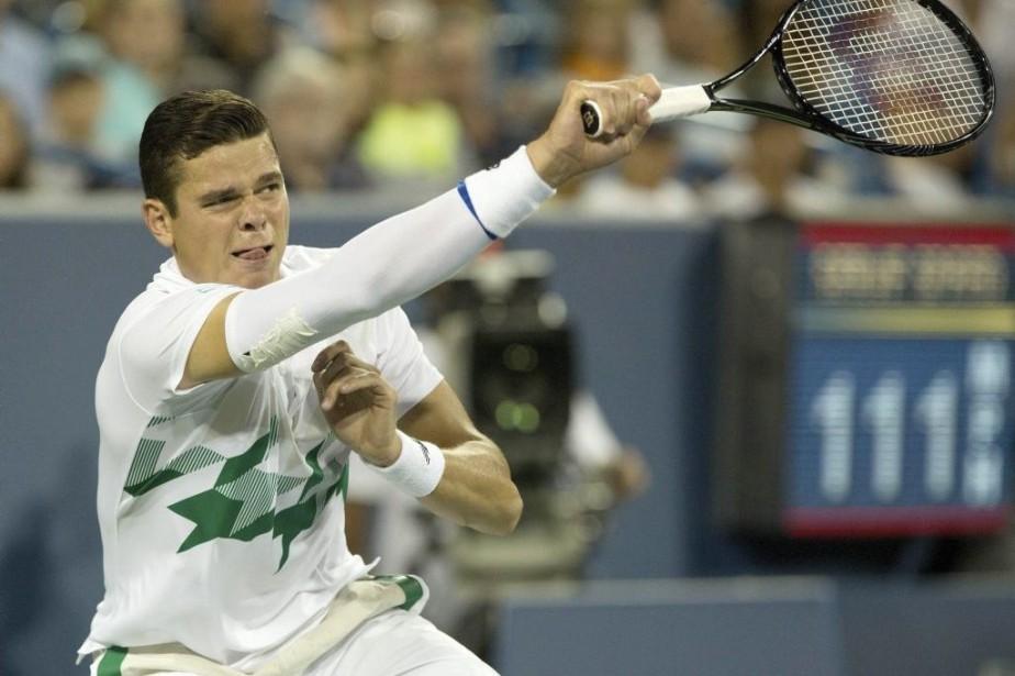 Milos Raonic a été vaincu par Roger Federer... (Photo Aaron Doster, USA TODAY Sports)