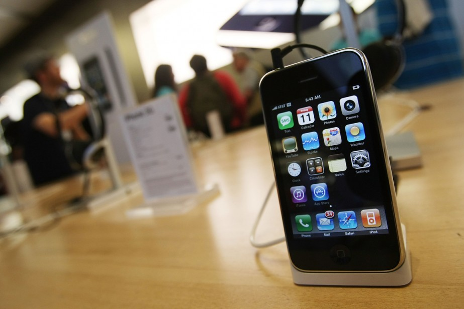 Le recours concerne le iPhone, iPhone 3G et iPhone 3GS... (PHOTO ARCHIVES GETTY IMAGES)