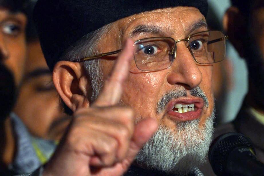 «Nous donnons 48 heures au gouvernement pour démissionner,... (Photo Arif Ali, archives AFP)