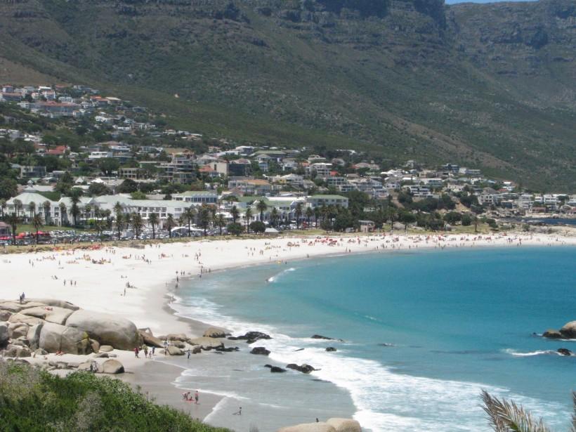 La plage de Camps Bay. (Photo Sylvie St-Jacques, La Presse)