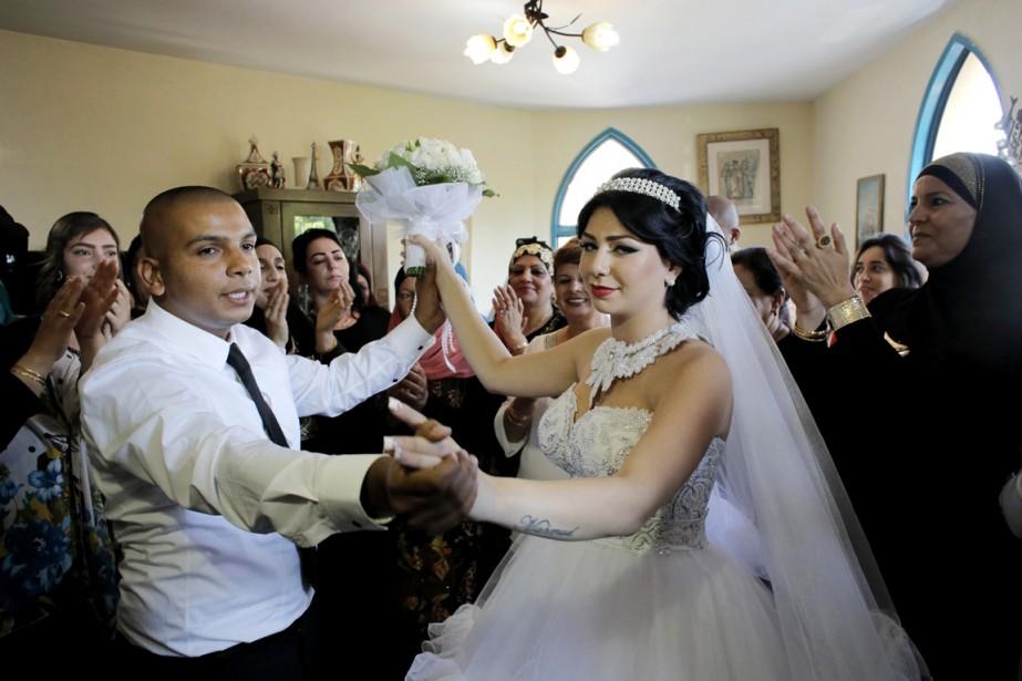 Les Roméo et Juliette israéliens, lui entrepreneur de... (PHOTO AMMAR AWAD, REUTERS)