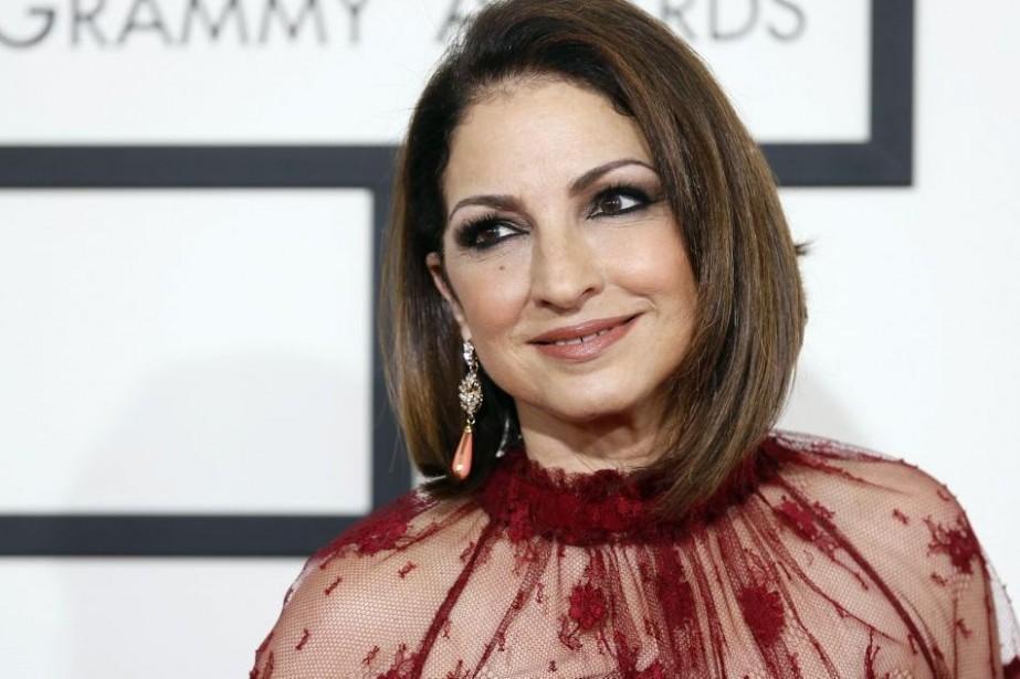 Gloria Estefan aux Grammy Awards en janvier dernier.... (Photo: archives Reuters)