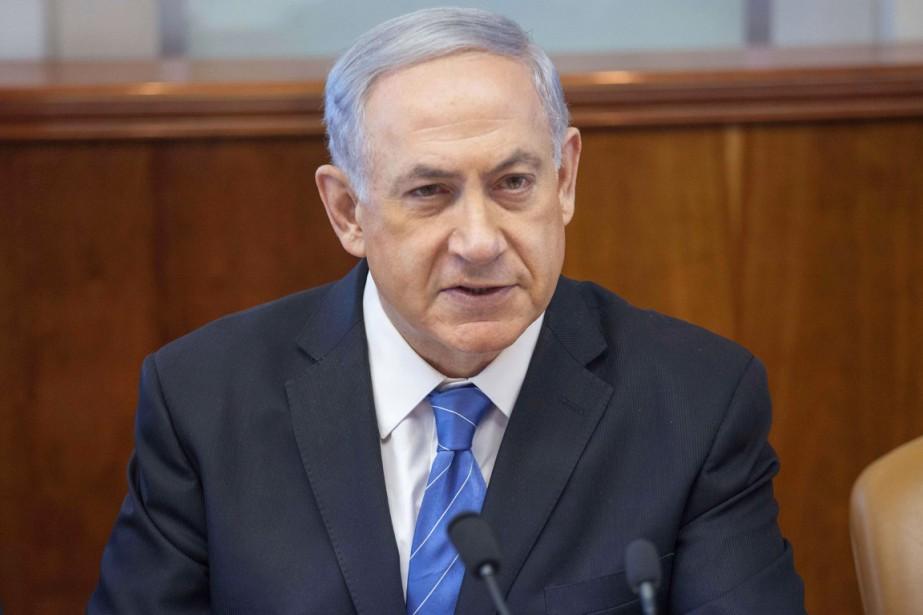 Le premier ministre israélien Benyamin Nétanyahou.... (PHOTO EMIL SALMAN, ARCHIVES AFP)