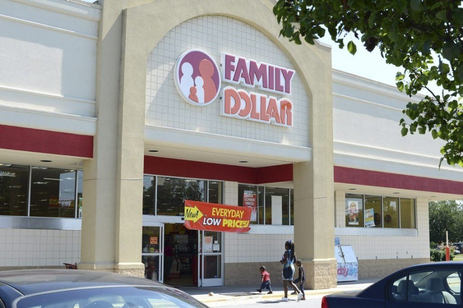 Un magasin Family Dollar de Kinston, en Caroline... (PHOTO JANET S. CARTER, AP)