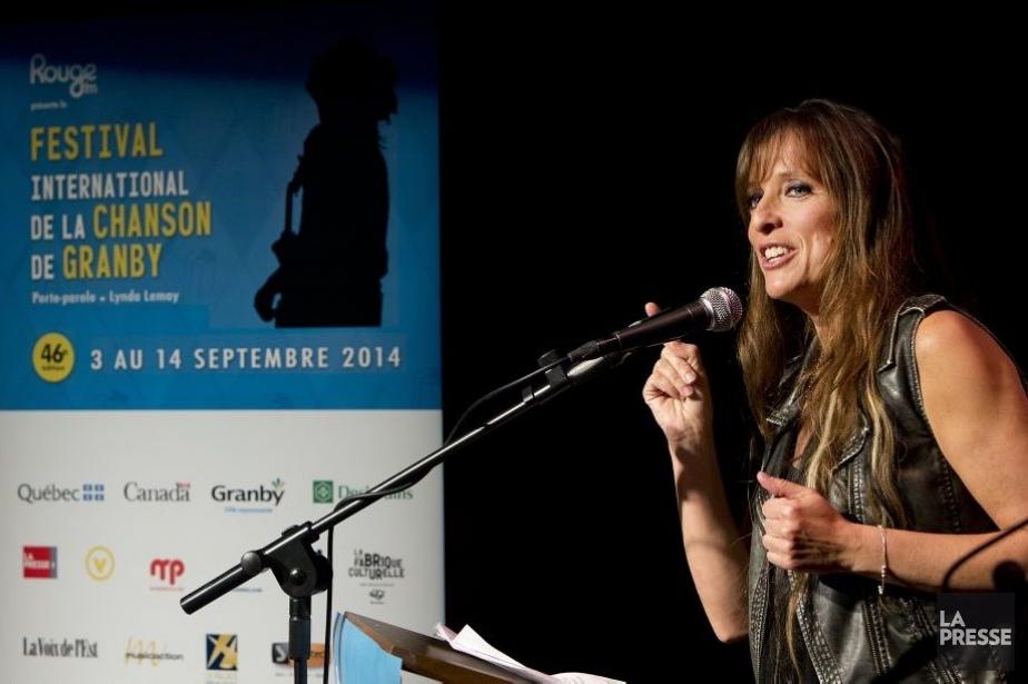 Lynda Lemay, porte-parole de l'édition 2014.... (Photo: Robert Skinner, La Presse)