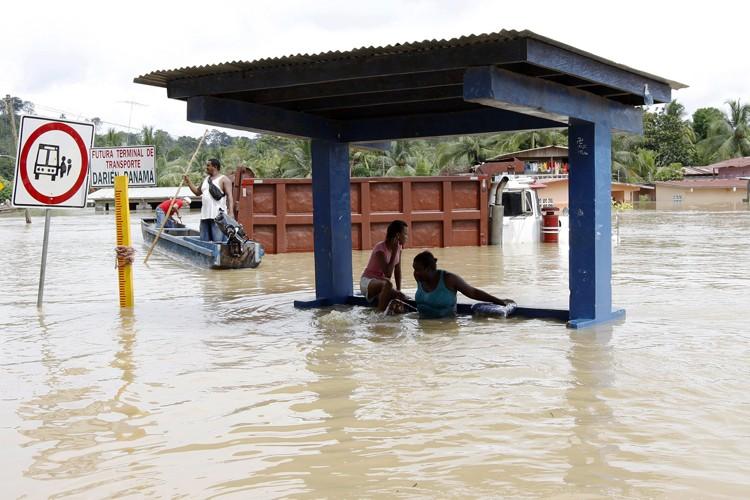 Les fortes pluies touchant le Panama ont provoqué lundi au... (Archives Reuters)