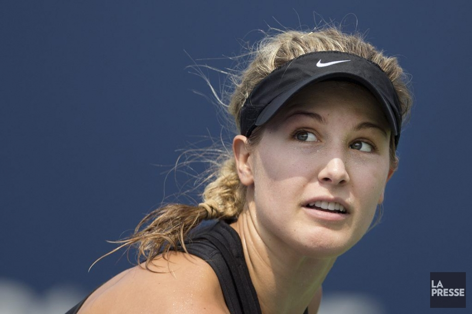 Eugenie Bouchard... (Photo: Robert Skinner, archives La Presse)