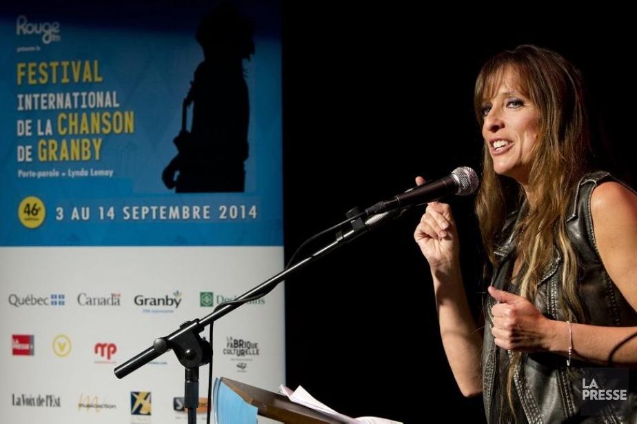 Lynda Lemay, porte-parole de la 46e édition du... (Photo: Robert Skinner, La Presse)