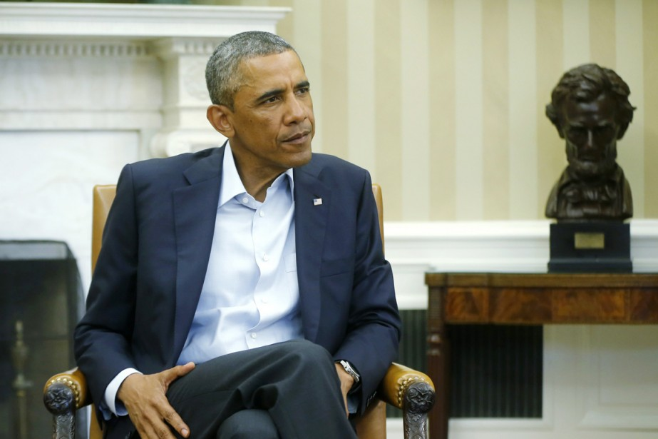 Barack Obama devrait-il s'impliquer plus fortement, plus directement,... (PHOTO CHARLES DHARAPAK, ARCHIVES AP)
