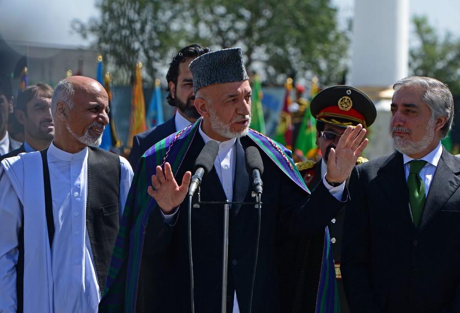 «J'espère que nous resterons unis... Afin que le... (PHOTO WAKIL KOHSAR, AFP)