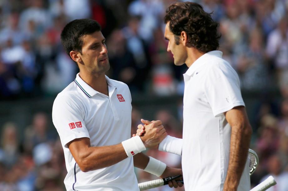 Novak Djokovic a vaincu Roger Federer en finale... (Photo Sang Tan, Reuters)