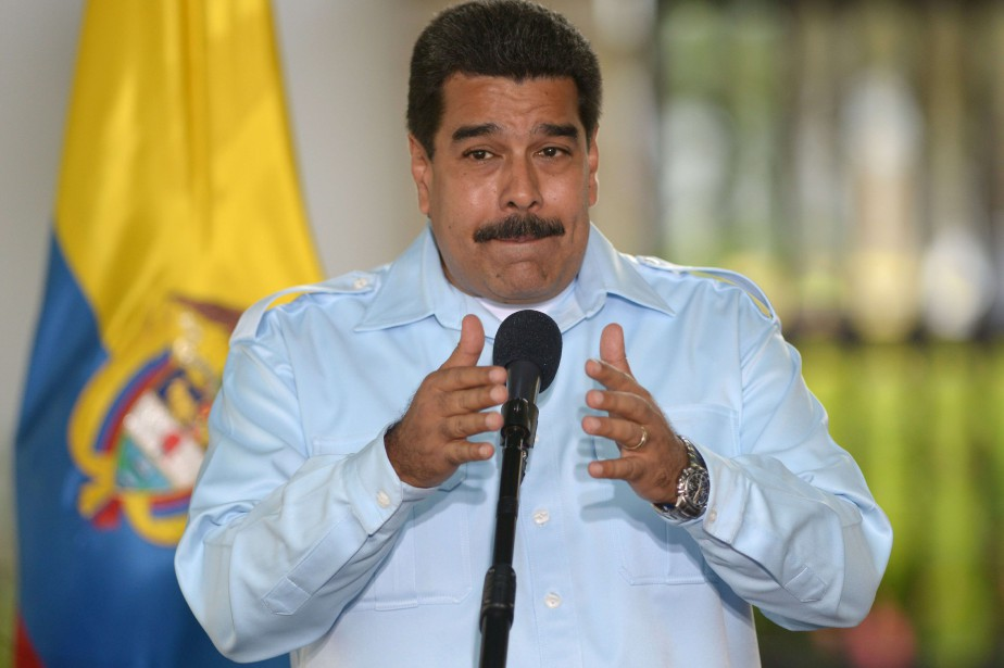 Nicolas Maduro, président duVenezuela... (Photo Eitan Abramovich, Archives AFP)