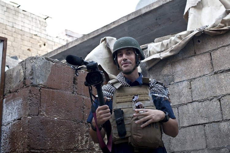 James Foley (ici en reportage en Syrie en... (Archives AFP)