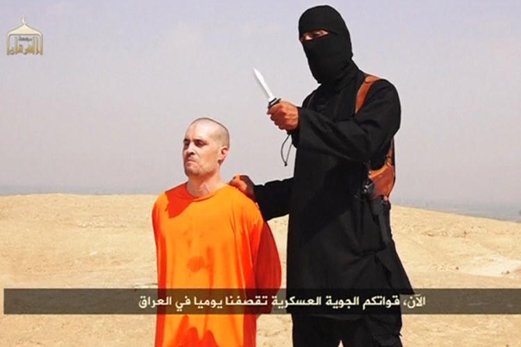 James Foley était vêtu d'une tenue orange, qui... (Photo: Reuters)