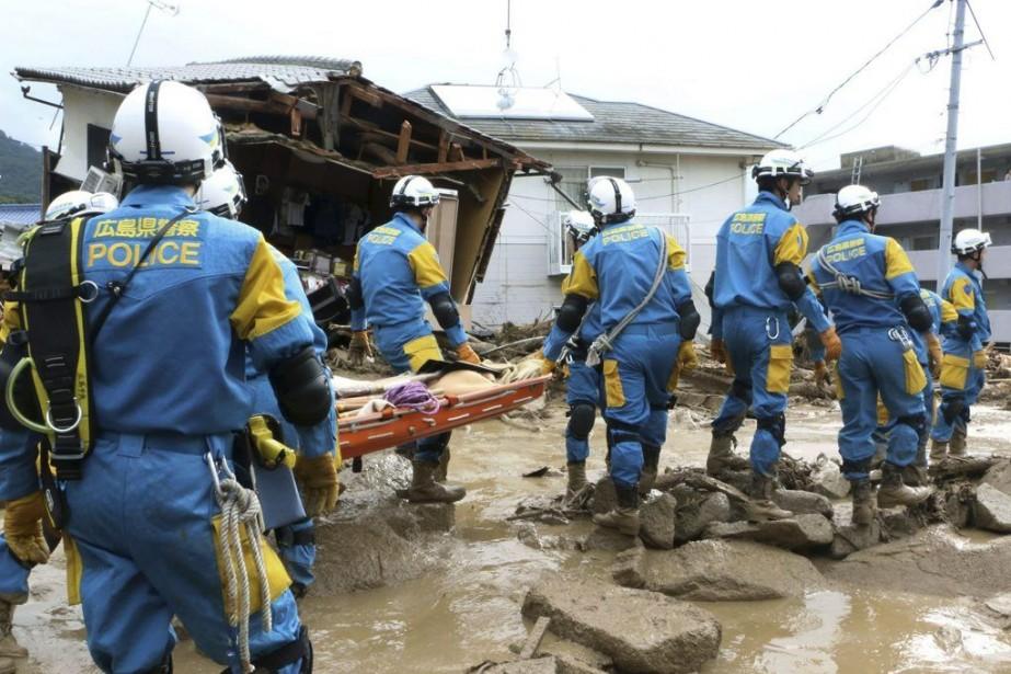 Les dégâts s'étendent sur une vingtaine de kilomètres,... (Photo: AP)