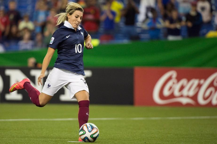 Claire Lavogez a été l'héroïne de la victoire... (Photo Graham Hughes, PC)