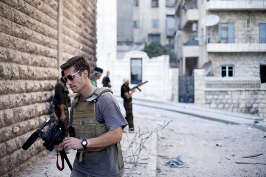 James Foley à Alep, en Syrie, en septembre... (PHOTO MANU BRABO, ARCHIVES AP/FREEJAMESFOLEY.ORG)