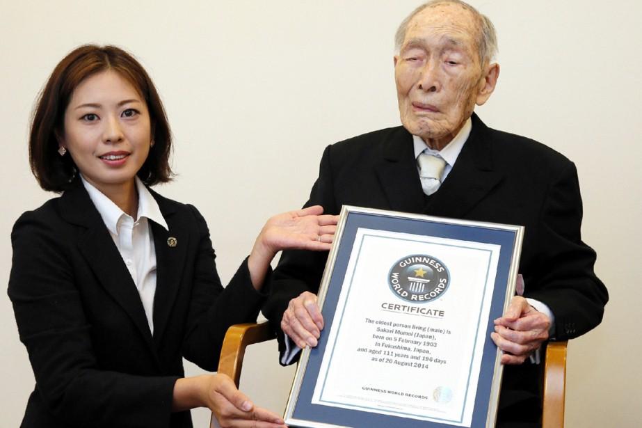 Sakari Momoi, né le 5 février 1903 à... (PHOTO AFP/JIJI PRESS)