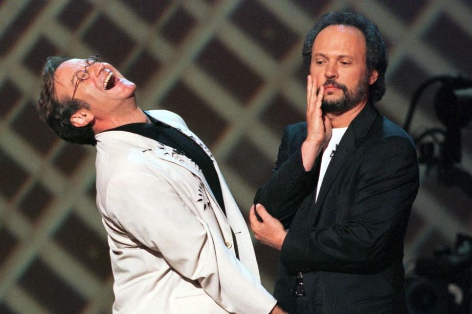 Billy Crystal et Robin Williams avaient joué ensemble... (Photo JEFF CHRISTENSEN, Reuters)