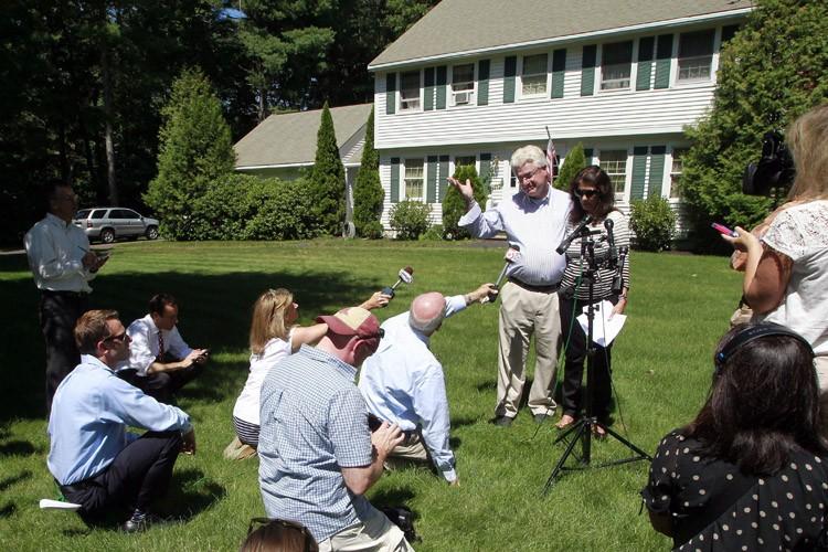 Les parents de James Foley,John et Diane, ont... (Photo: AP)