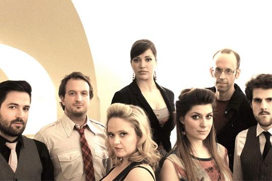 The Swingle Singers... (Photo: fournie par le Domaine Forget)