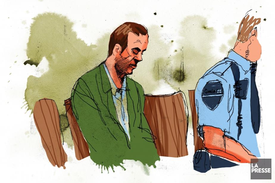 Guy Turcotte, illustré lors de son procès en... (Illustration André Rivest, La Presse)