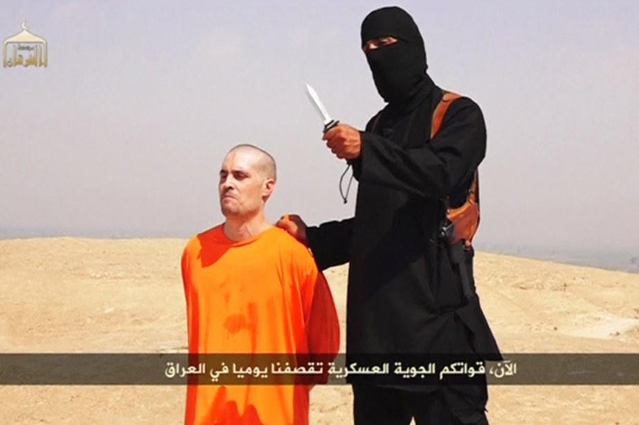 L'exécution du journaliste James Foley a été filmée... (IMAGE ARCHIVES REUTERS TV)