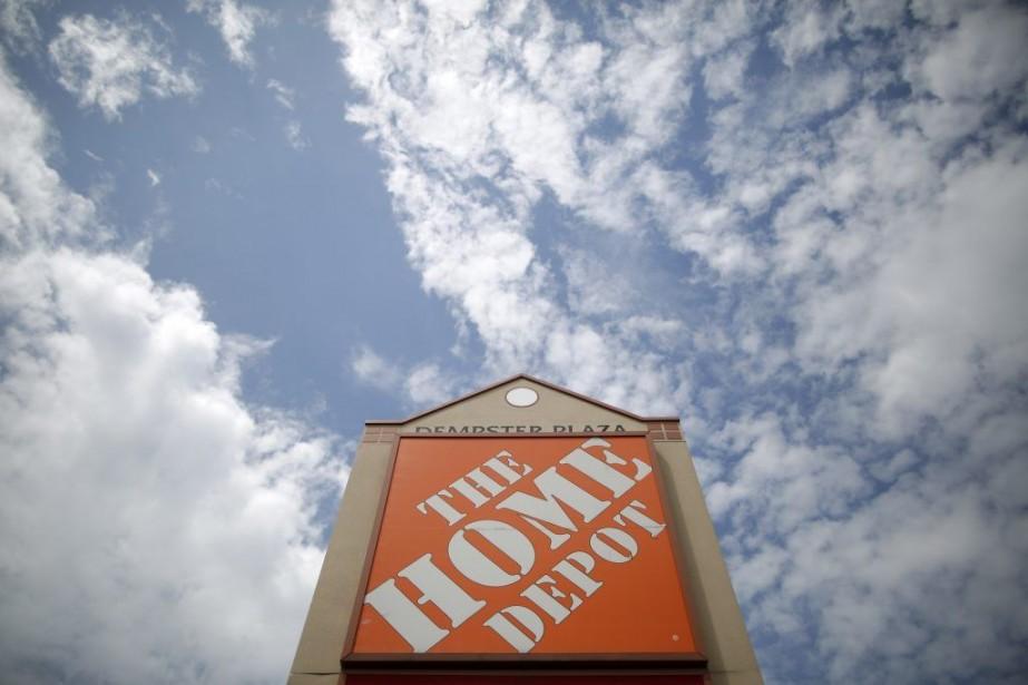Établie à Atlanta, Home Depot est la plus... (PHOTO JIM YOUNG, ARCHIVES REUTERS)