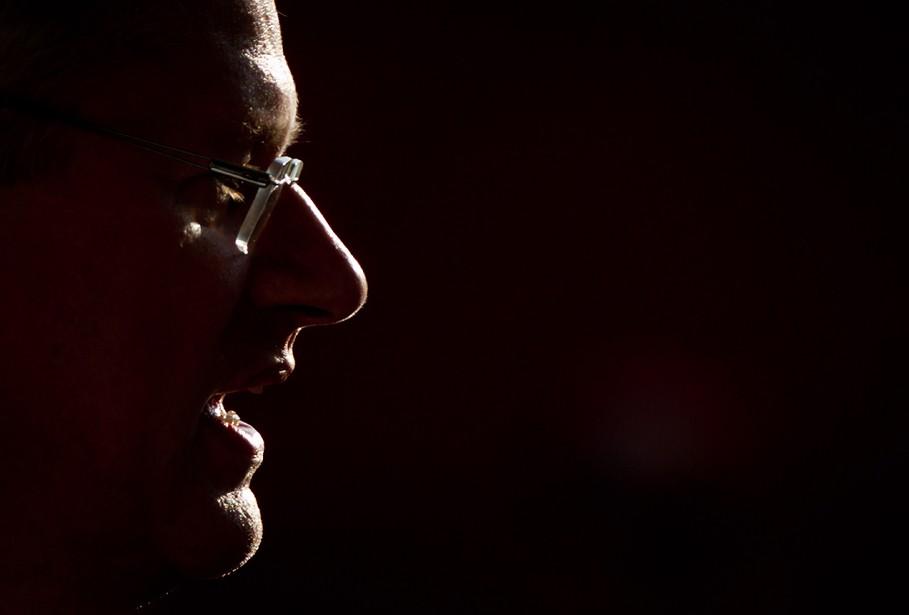 Stephen Harper, leader conservateur.... (Photo DARRYL DYCK, archives PC)