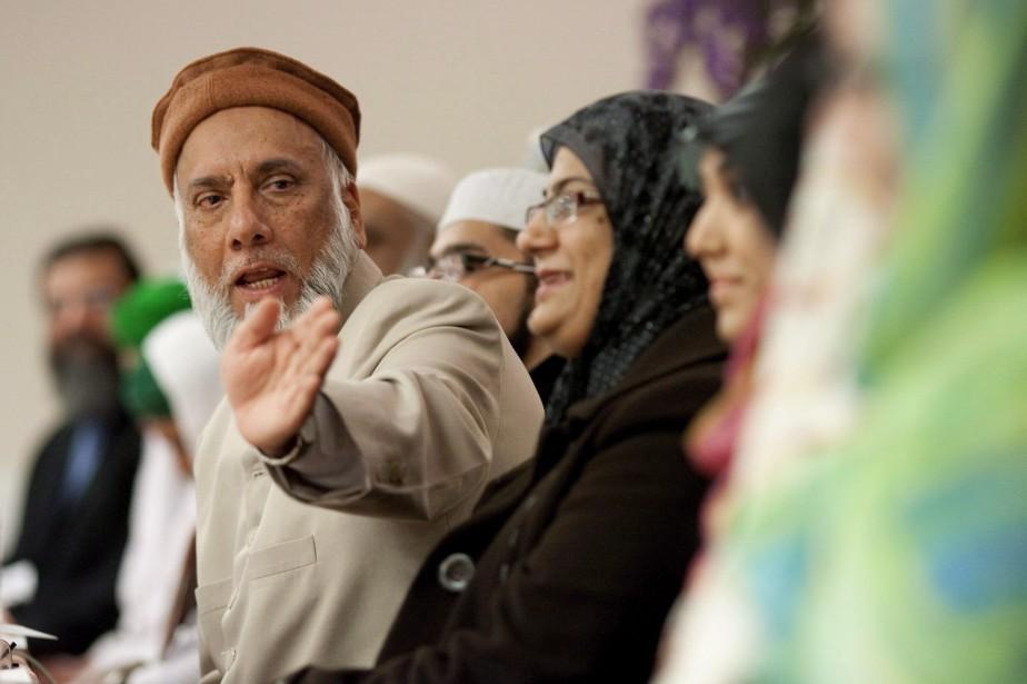 L'imam SyedSoharwardy, qui a fondé Musulmans contre le... (Photo Chris Young, PC)