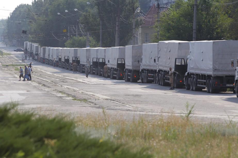 Moscou doit également faire retomber la pression en... (Photo Sergei Grits, AP)