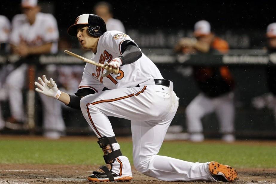 Machado a maintenu une moyenne de ,278 avec... (PHOTO PATRICK SEMANSKY, AP)