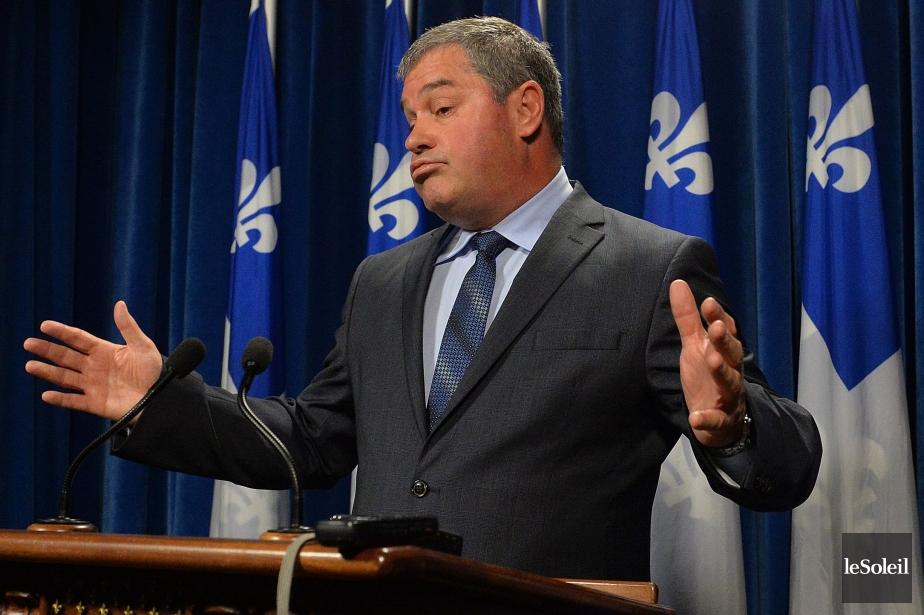 Le ministre de l'Éducation du Québec, Yves Bolduc... (Photo Patrice Laroche, archives Le Soleil)