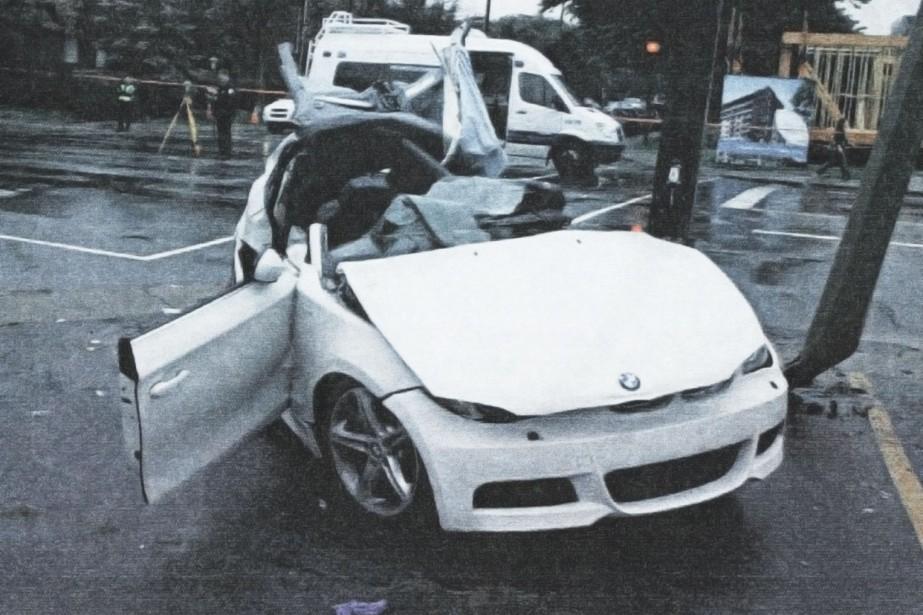 Photo de la BMW 135i déposée en preuve... (Photo fournie par la cour)