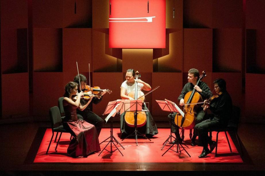 Le Quintette de Schubert, au concert final de... (PHOTO FOURNIE PAR LA PRODUCTION)