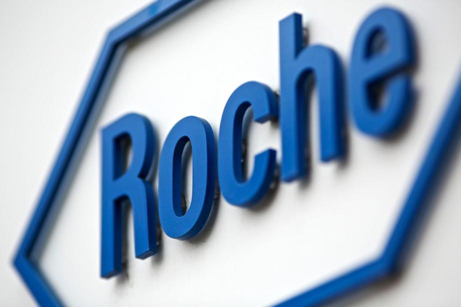 Le groupe pharmaceutique suisse Roche( (PHOTO ARCHIVES BLOOMBERG)
