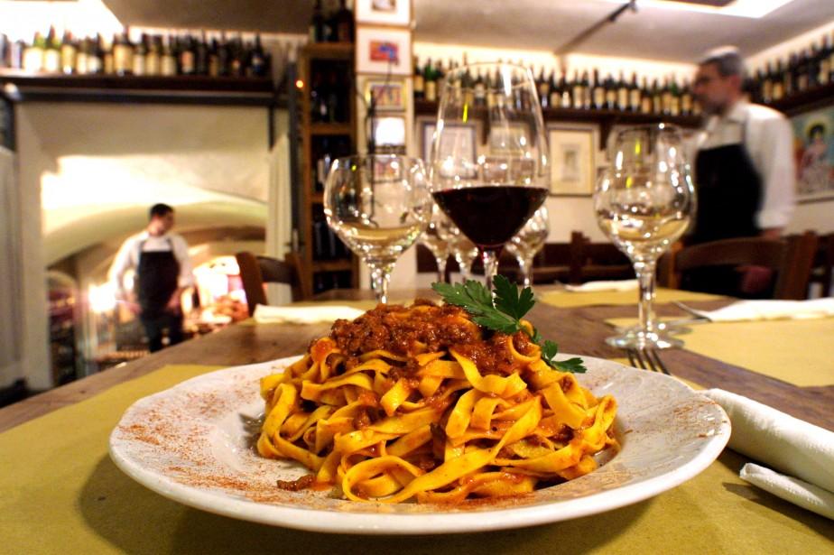 La sauce al ragù est la plus célèbre des sauces italiennes. (PHOTO FOURNIE PAR BOLOGNA WELCOME)