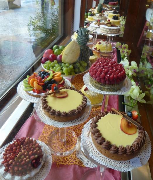 Commencez la journée du bon pied en visitant la pâtisserieGamberini. (PHOTO CATHERINE SCHLAGER, LA PRESSE)