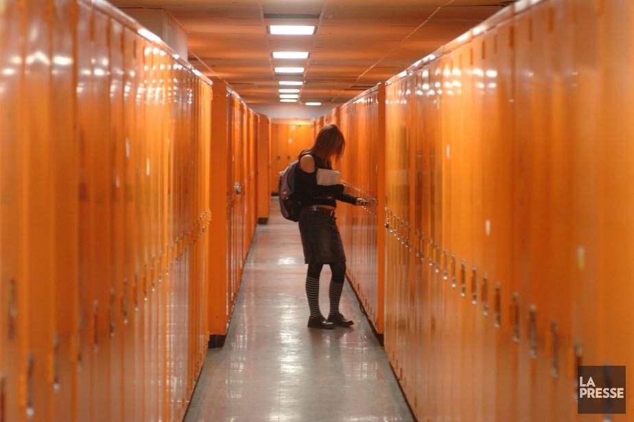 Un nombre croissant d'élèves qui... (Photo Martin Chamberland, La Presse)